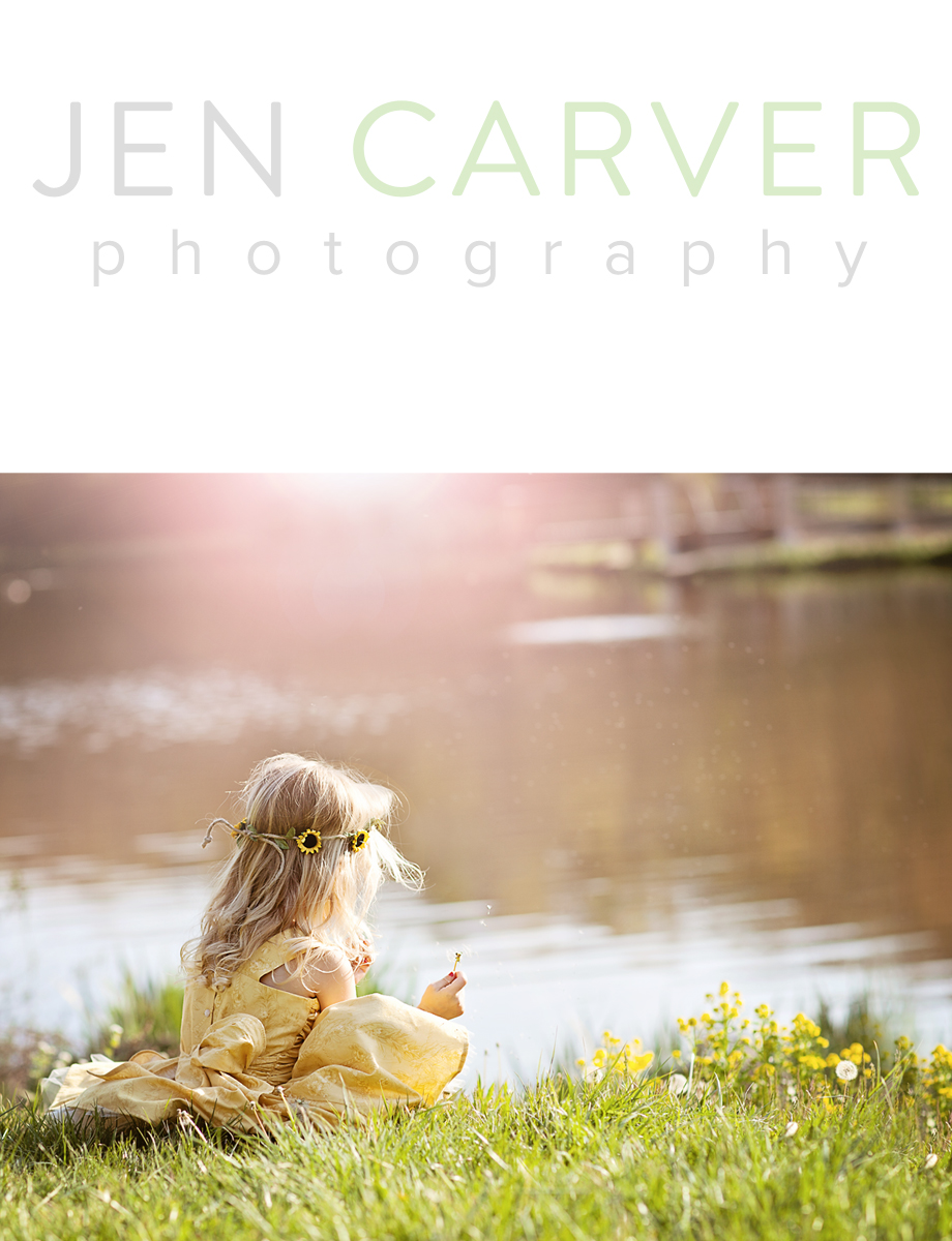 ella12 2 Dandelions and Willow Trees | Pittsburgh Child Photographer
