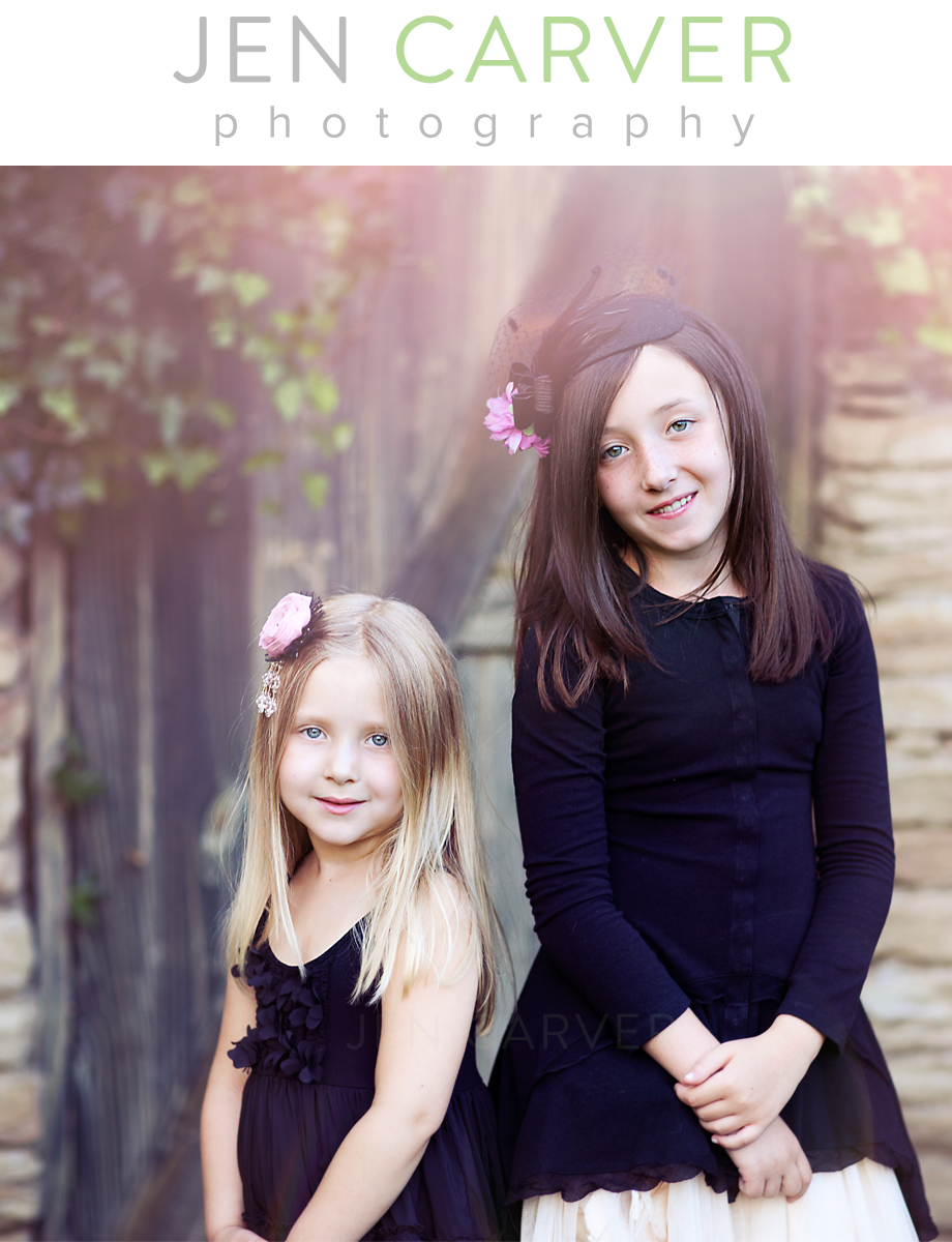 cantwell4 Sisters. Sewickley, PA Child Photographer